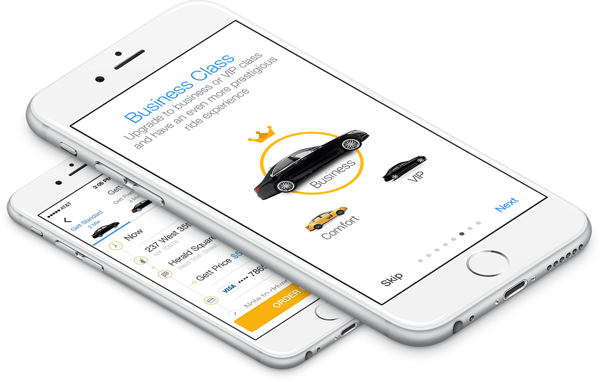 Uber-Like Apps Examples: Location-based services portfolio : Eastern