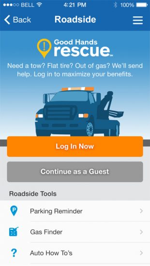insurance-sompany-mobile-app-screen